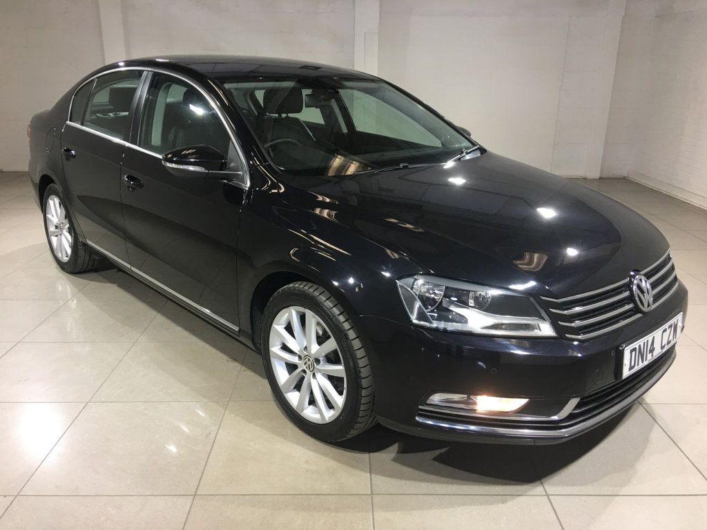 USED 2014 14 VOLKSWAGEN PASSAT 2.0 EXECUTIVE TDI BLUEMOTION TECHNOLOGY 4d 139 BHP