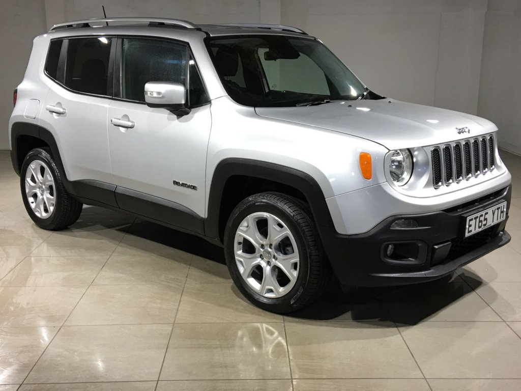 USED 2016 65 JEEP RENEGADE 2.0 M-JET LIMITED 5d AUTO 138 BHP