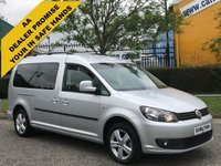 USED 2013 13 VOLKSWAGEN CADDY MAXI 1.6TDi C20 LIFE [ W.A.V WHEELCHAIR-DISABLED ] A/Con VQ Delivery T,B,A