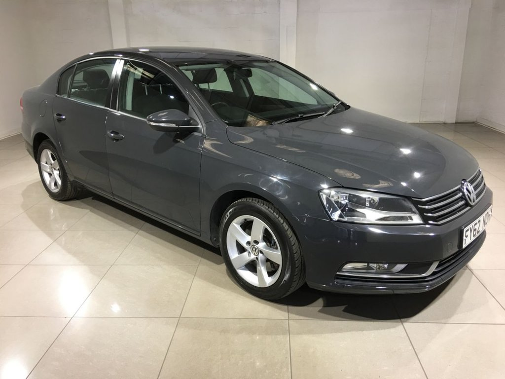 USED 2012 62 VOLKSWAGEN PASSAT 2.0 S TDI BLUEMOTION TECHNOLOGY 4d 139 BHP