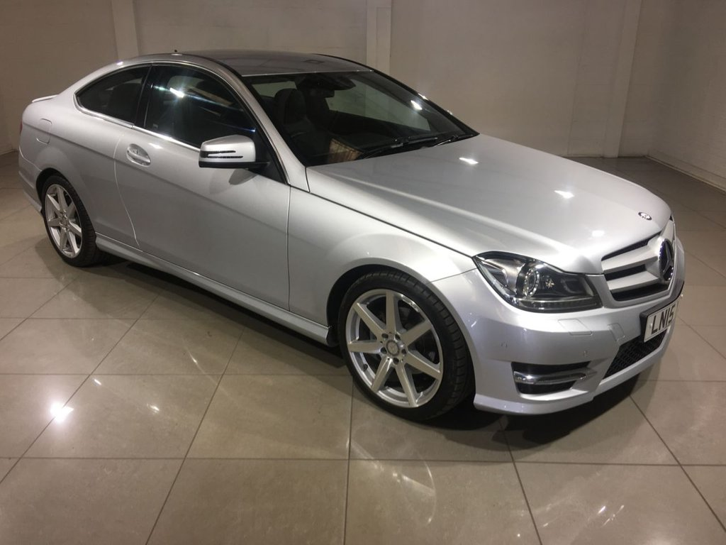 USED 2015 15 MERCEDES-BENZ C-CLASS 2.1 C250 CDI AMG SPORT EDITION 2d AUTO 202 BHP