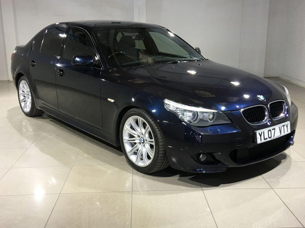 USED 2007 07 BMW 5 SERIES 2.0 520D M SPORT 4d AUTO 161 BHP
