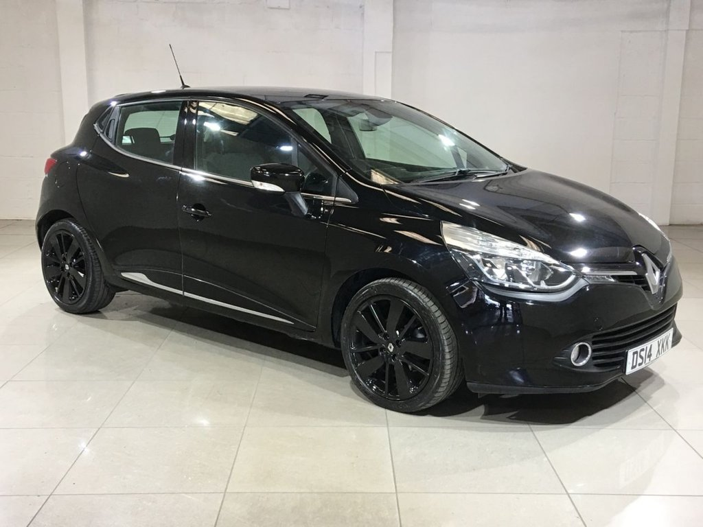 USED 2014 14 RENAULT CLIO 0.9 DYNAMIQUE S MEDIANAV ENERGY TCE S/S 5d 90 BHP