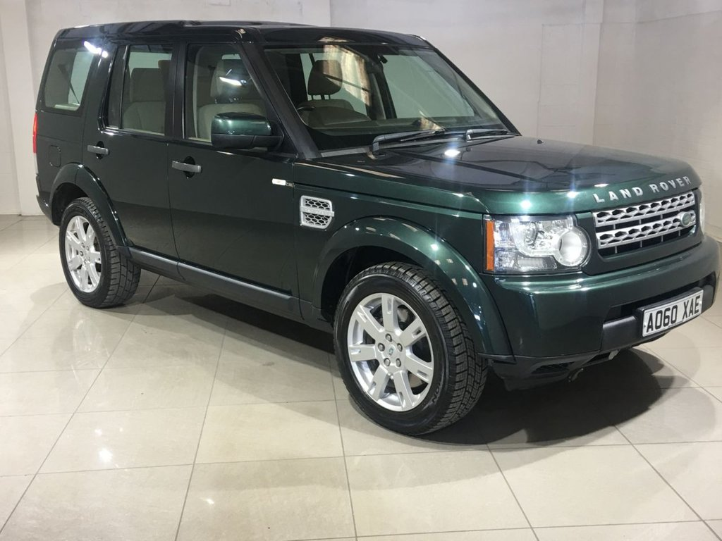 USED 2010 60 LAND ROVER DISCOVERY 3.0 4 SDV6 GS 5d AUTO 245 BHP