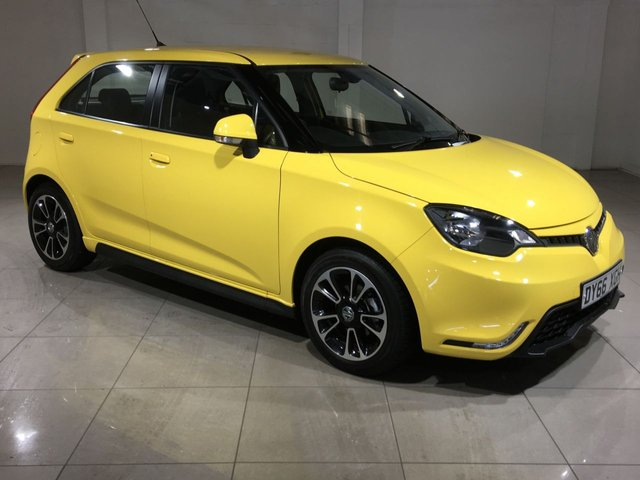 View our 2016 66 MG 3 1.5 3 STYLE VTI-TECH 5d 106 BHP