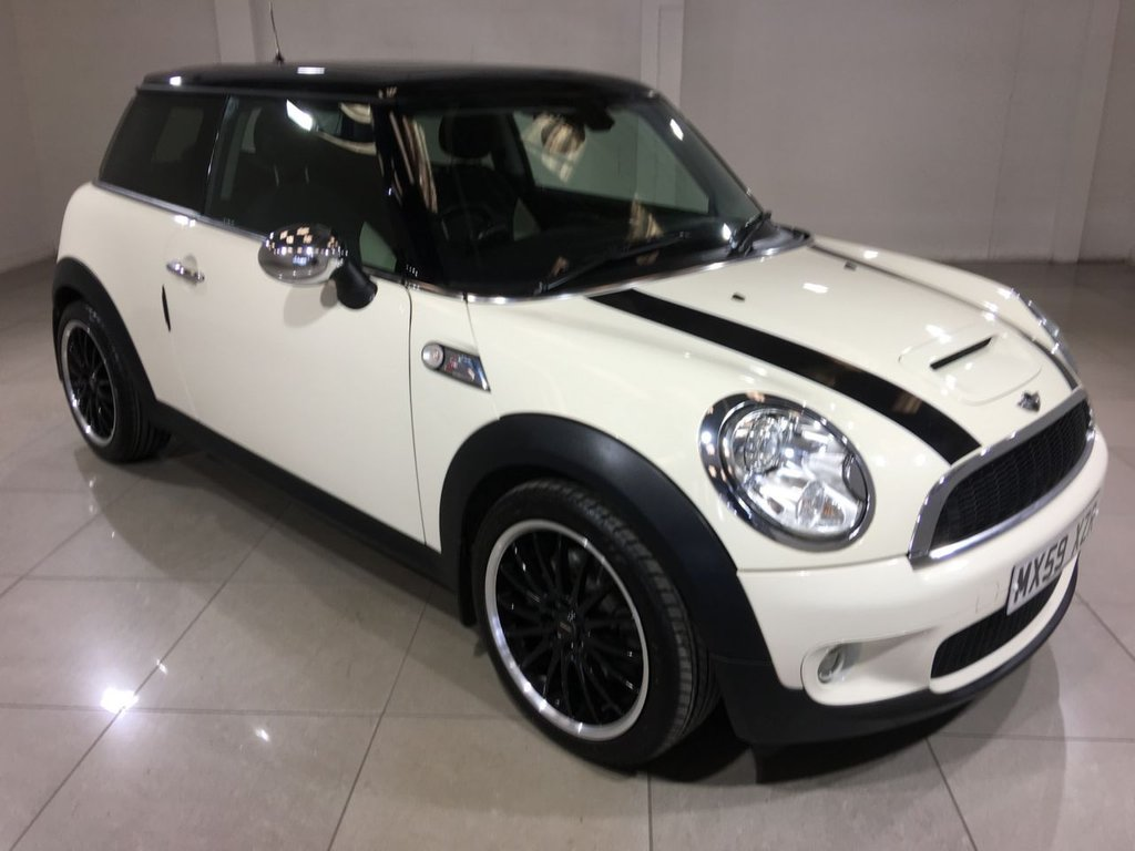 USED 2009 59 MINI HATCH COOPER 1.6 COOPER S 3d 172 BHP