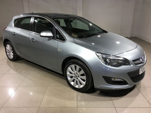 View our 2014 14 VAUXHALL ASTRA 1.6 TECH LINE 5d AUTO 115 BHP