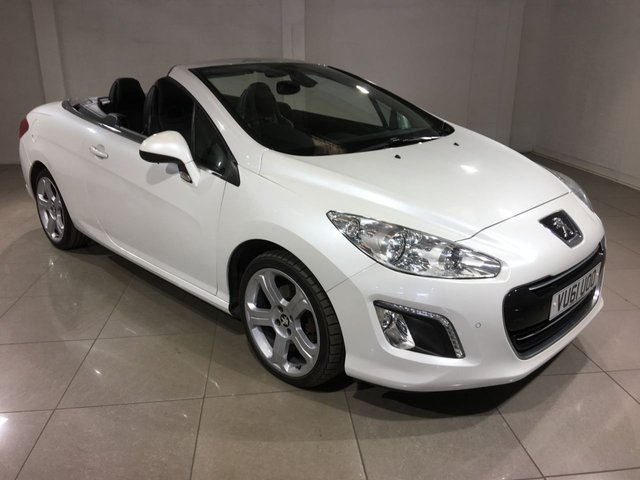 View our 2011 61 PEUGEOT 308 2.0 HDI CC ALLURE 2d 163 BHP