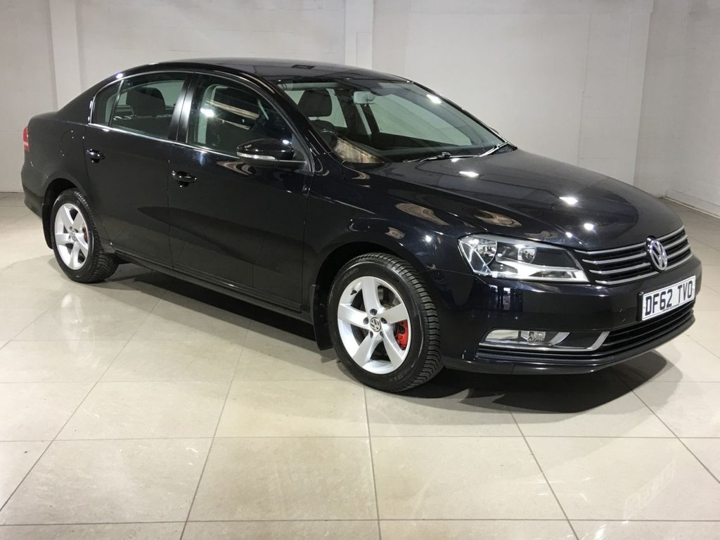 USED 2013 62 VOLKSWAGEN PASSAT 1.6 S TDI BLUEMOTION TECHNOLOGY 4d 104 BHP