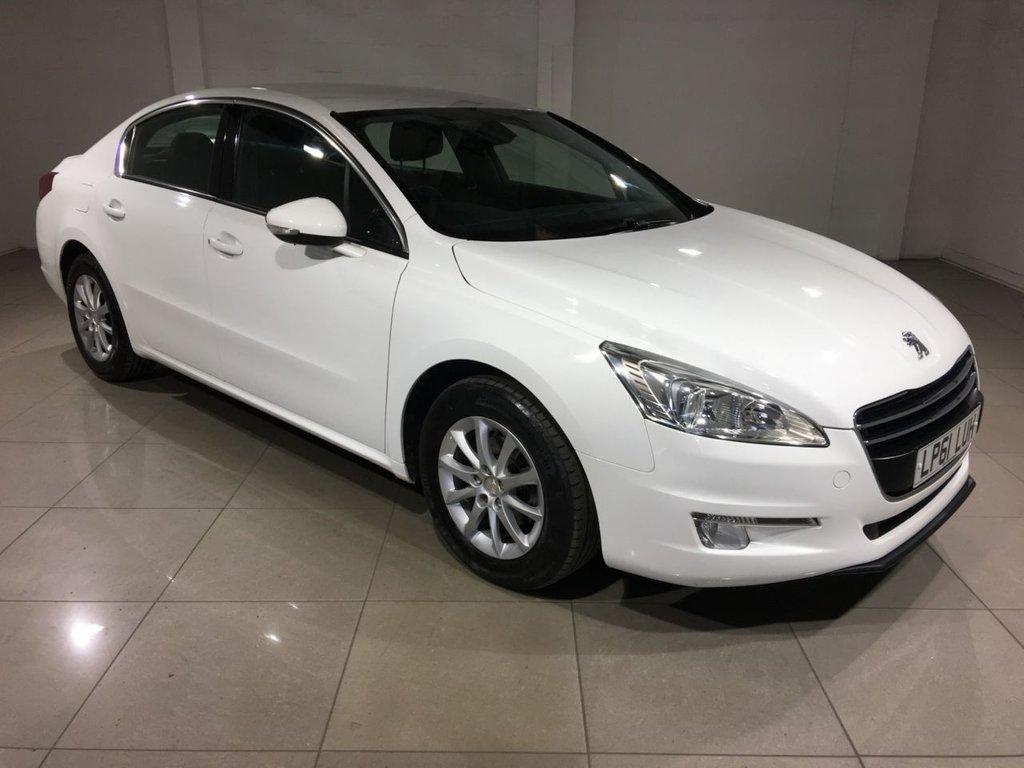 USED 2012 61 PEUGEOT 508 1.6 SR E-HDI FAP 4d AUTO 112 BHP