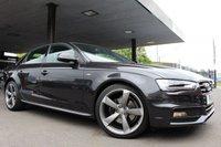 USED 2013 63 AUDI A4 2.0 TDI QUATTRO S LINE BLACK EDITION S/S 4d AUTO 174 BHP