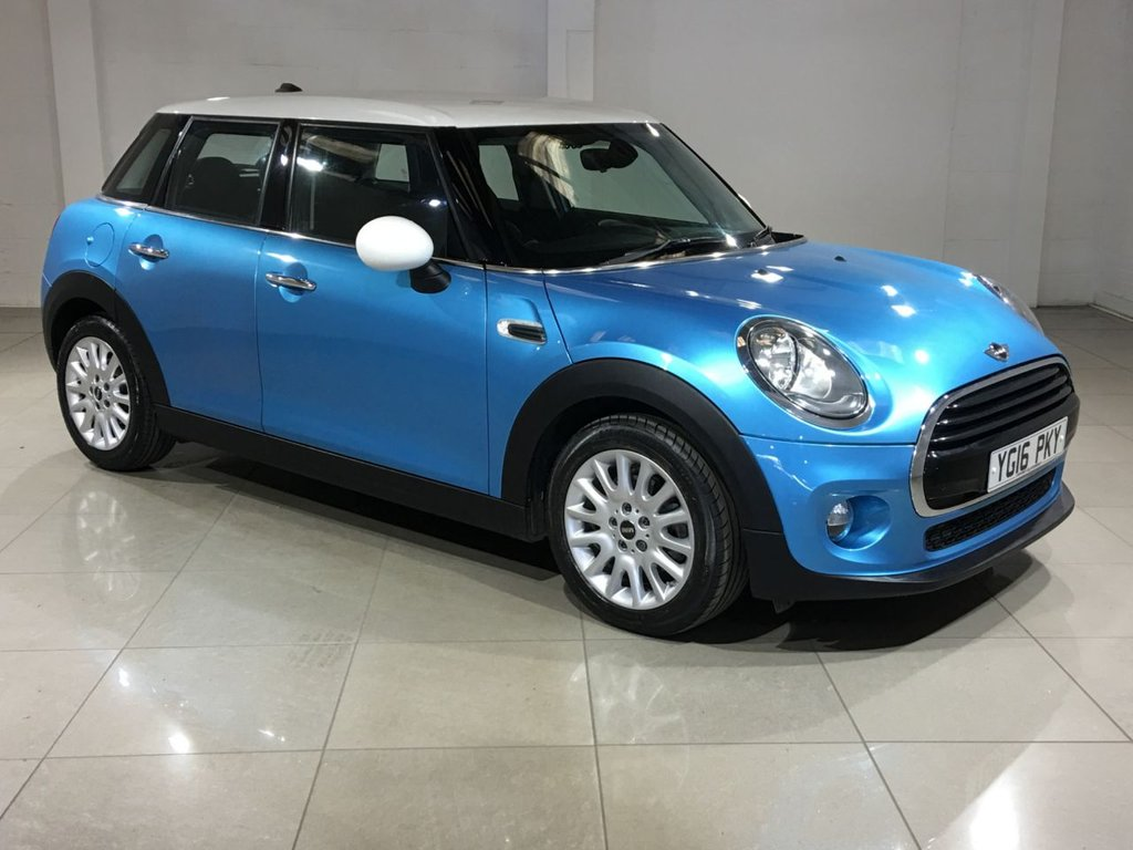 USED 2016 16 MINI HATCH COOPER 1.5 COOPER D 5d AUTO 114 BHP