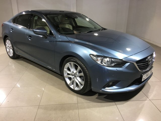 View our 2014 14 MAZDA 6 2.2 D SPORT NAV 4d 148 BHP