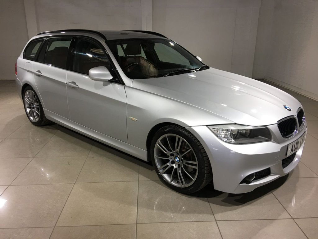 USED 2011 11 BMW 3 SERIES 2.0 320D M SPORT TOURING 5d AUTO 181 BHP