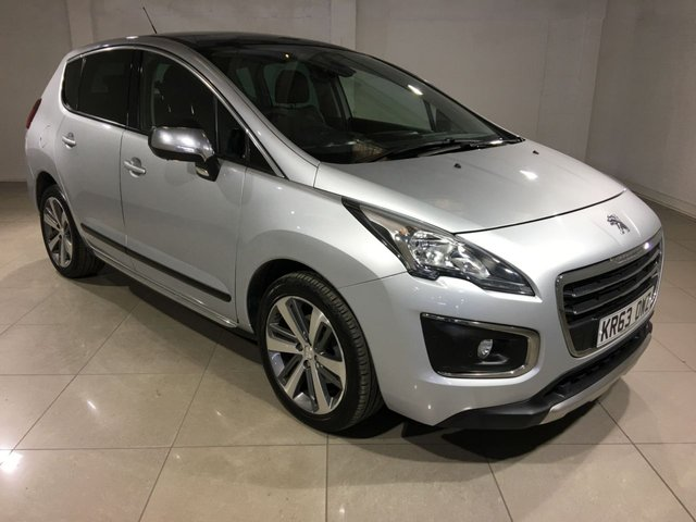 View our 2014 63 PEUGEOT 3008 2.0 HDI ALLURE 5d 150 BHP