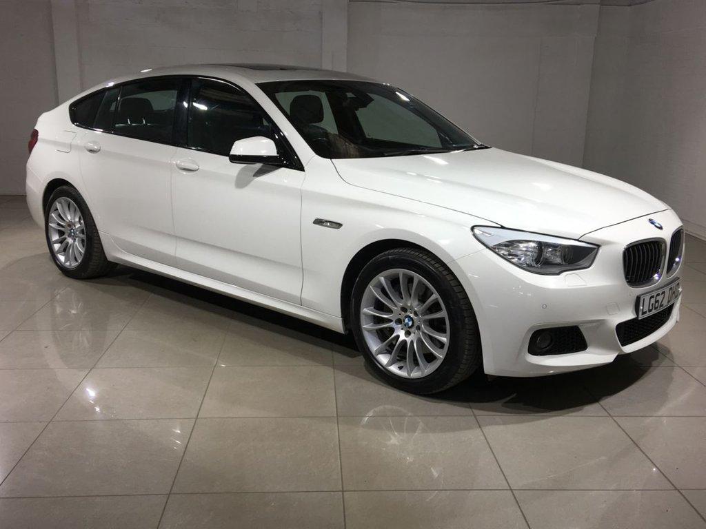 USED 2012 62 BMW 5 SERIES 2.0 520D M SPORT GRAN TURISMO 5d AUTO 181 BHP