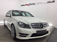 2012 MERCEDES-BENZ C CLASS 2.1 C220 CDI BLUEEFFICIENCY SPORT 4d 168 BHP £9995.00
