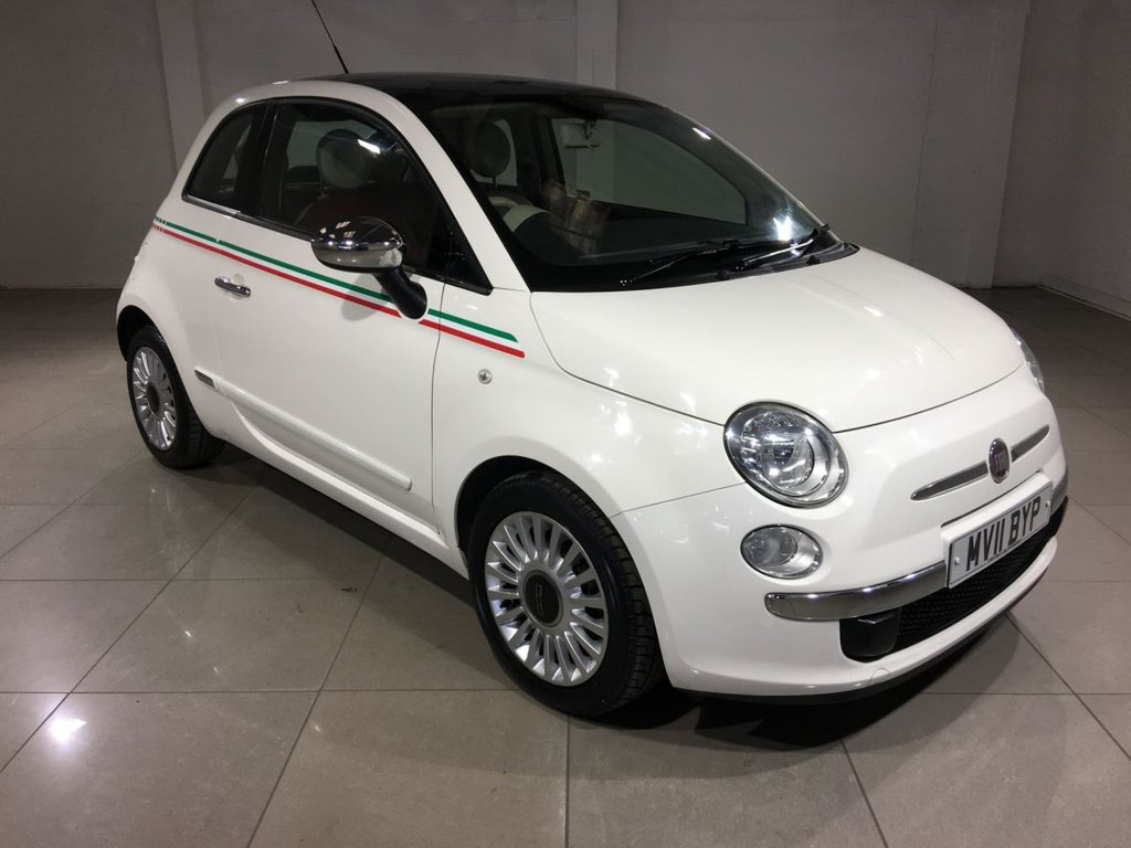 USED 2011 11 FIAT 500 0.9 LOUNGE 3d 85 BHP