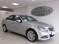 USED 2011 61 MERCEDES-BENZ C CLASS 2.1 C200 CDI BLUEEFFICIENCY ELEGANCE ED125  AUTO 136 BHP Fabulous Overall Condition - Full Dealer History Sat Nav & Leather