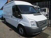 2013 FORD TRANSIT 280 MWB Medium roof 100PS *AIR CON*ONLY 17000 MILES* £9495.00