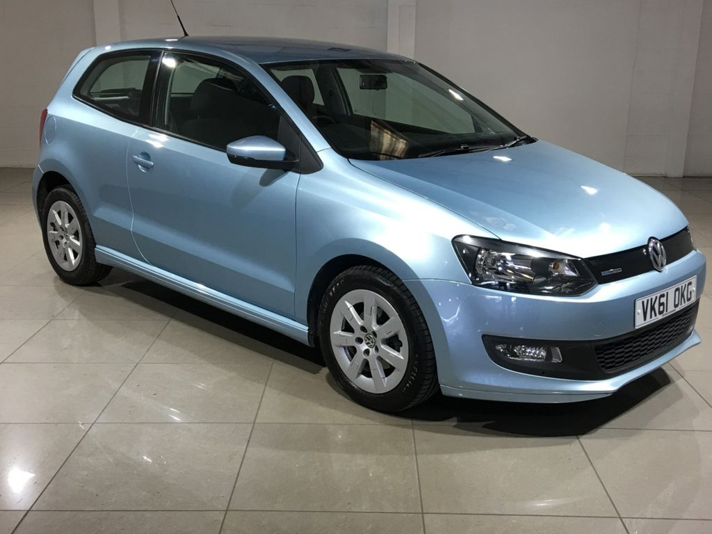 USED 2011 61 VOLKSWAGEN POLO 1.2 BLUEMOTION TDI 3d 74 BHP