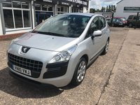 USED 2010 10 PEUGEOT 3008 1.6 ACTIVE HDI 5d 110 BHP Service History-1 Former Keeper-12 Months Mot-Diesel