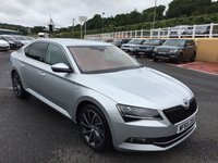 USED 2015 65 SKODA SUPERB 2.0 LAURIN AND KLEMENT TDI DSG 5d AUTO 188 BHP Media centre with camera, Digital TV, Canton Hi-Fi plus much more.