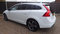 USED 2013 13 VOLVO V60 2.0 D4 R-DESIGN NAV 5dr Sat Nav, Cruise, £30 Tax