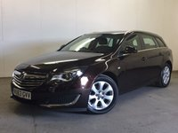 USED 2013 63 VAUXHALL INSIGNIA 2.0 DESIGN NAV CDTI ECOFLEX S/S 5d 118 BHP SAT NAV ONE OWNER FSH £20 YEAR ROAD TAX. 72 MPG. FACELIFT MODEL. SATELLITE NAVIGATION. STUNNING BROWN MET WITH CONTRASTING BLACK CLOTH TRIM. CRUISE CONTROL. 17 INCH ALLOYS. COLOUR CODED TRIMS. PARKING SENSORS. BLUETOOTH PREP. CLIMATE CONTROL. R/CD PLAYER. 6 SPEED MANUAL. MFSW. TOWBAR. MOT 06/18. ONE OWNER FROM NEW. FULL SERVICE HISTORY. PRISTINE CONDITION. FCA FINANCE APPROVED DEALER. TEL 01937 849492.