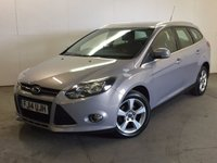 USED 2014 14 FORD FOCUS 1.6 ZETEC NAVIGATOR ECONETIC TDCI START/STOP 5d 104 BHP SAT NAV ONE OWNER FSH £0 YEAR ROAD TAX. 76 MPG. FACELIFT MODEL. SATELLITE NAVIGATION. STUNNING GREY MET WITH CONTRASTING BLACK/GREY CLOTH TRIM. CRUISE CONTROL. 16 INCH ALLOYS. COLOUR CODED TRIMS. BLUETOOTH PREP. CLIMATE CONTROL. R/CD PLAYER. 6 SPEED MANUAL. MFSW. MOT 04/18. ONE OWNER FROM NEW. FULL SERVICE HISTORY. PRISTINE CONDITION. FCA FINANCE APPROVED DEALER. TEL 01937 849492.