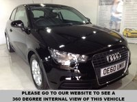 USED 2011 60 AUDI A1 1.6 TDI SE 3d 103 BHP Only £20 a year road tax,        2 Keys,        15-inch alloy wheels,         Air-conditioning
