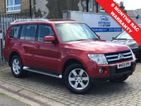 USED 2009 M MITSUBISHI SHOGUN 3.2 GLS ELEGANCE LWB DI-D 5d 160 BHP PRICE INCLUDES A 6 MONTH RAC WARRANTY, 1 YEARS MOT AND 12 MONTHS FREE BREAKDOWN COVER
