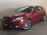 USED 2010 59 VAUXHALL INSIGNIA 2.0 EXCLUSIV CDTI 5d 160 BHP AIR CON ALLOYS  STUNNING RED WITH CONTRASTING BLACK CLOTH SPORTS TRIM. CRUISE CONTROL. 18 INCH ALLOYS. COLOUR CODED TRIMS. BLUETOOTH PREP. CLIMATE CONTROL. R/CD PLAYER. 6 SPEED MANUAL. MFSW. MOT 03/18. ONE PREV OWNER. FCA FINANCE APPROVED DEALER. TEL 01937 849492.