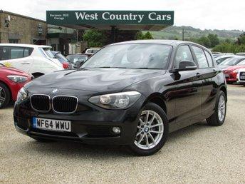 2014 BMW 1 SERIES 1.6 116I SE 5d AUTO 135 BHP £14000.00