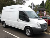 USED 2013 13 FORD TRANSIT 2.2 350 MWB HIGH ROOF  In Great Overall Condition & Fabulous Load Capacity