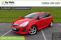 2011 VAUXHALL CORSA 1.7 SRI CDTI 5d 128 BHP £5290.00