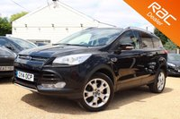 USED 2014 14 FORD KUGA 2.0 TITANIUM TDCI 5d 160 BHP sony stereo, parking sensors & more