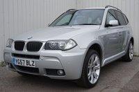 2007 BMW X3 2.0 D M SPORT 5d 148 BHP £6495.00