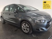 USED 2014 14 CITROEN C4 PICASSO 1.6 E-HDI AIRDREAM EXCLUSIVE 5d 113 BHP FSH-NAV-BLUETOOTH-CAMERA-BLUETOOTH