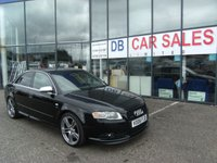 USED 2006 06 AUDI A4 4.2 S4 QUATTRO 4d AUTO 339 BHP FREE 12 MONTHS RAC WARRANTY AND FREE 12 MONTHS RAC BREAKDOWN COVER
