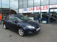 USED 2009 09 SEAT IBIZA 1.4 SPORT 3d 85 BHP £0 DEPOSIT, LOW RATE FINANCE ANYONE, DRIVE AWAY TODAY!!