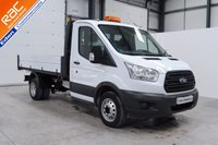 2015 FORD TRANSIT 2.2 350 DRW 1d 124 BHP SINGLE CAB TIPPER £15895.00