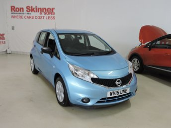 2016 NISSAN NOTE}