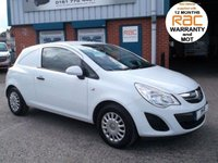 USED 2011 61 VAUXHALL CORSA 1.2 SWB CDTI 73 BHP 1 OWNER FSH ECONOMICAL ENGINE