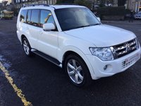 USED 2014 14 MITSUBISHI SHOGUN 3.2 DI-D SG4 5d AUTO 197 BHP OUR  PRICE INCLUDES A 6 MONTH AA WARRANTY DEALER CARE EXTENDED GUARANTEE, 1 YEARS MOT AND A OIL & FILTERS SERVICE. 6 MONTHS FREE BREAKDOWN COVER.  CALL US NOW FOR MORE INFORMATION OR TO BOOK A TEST DRIVE ON 01315387070 !!