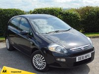 USED 2011 61 FIAT PUNTO EVO 1.2 ACTIVE 5d * FULL SERVICE HISTORY & 128 POINT AA INSPECTED*