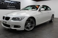 USED 2013 13 BMW 3 SERIES 2.0 320D M SPORT 2d 181 BHP COUPE