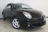 USED 2010 60 ALFA ROMEO MITO 1.4 TURISMO 16V 3DR 95 BHP FULL SERVICE HISTORY + BLUETOOTH + MULTI FUNCTION WHEEL + CRUISE CONTROL + ALLOY WHEELS