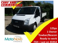 2013 FORD TRANSIT 350 MWB Transit Tipper 1-Way 1-Stop 125ps £10995.00