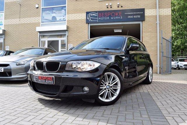 2011 61 BMW 1 SERIES 116D M SPORT 2.0 3 DOOR HATCHBACK
